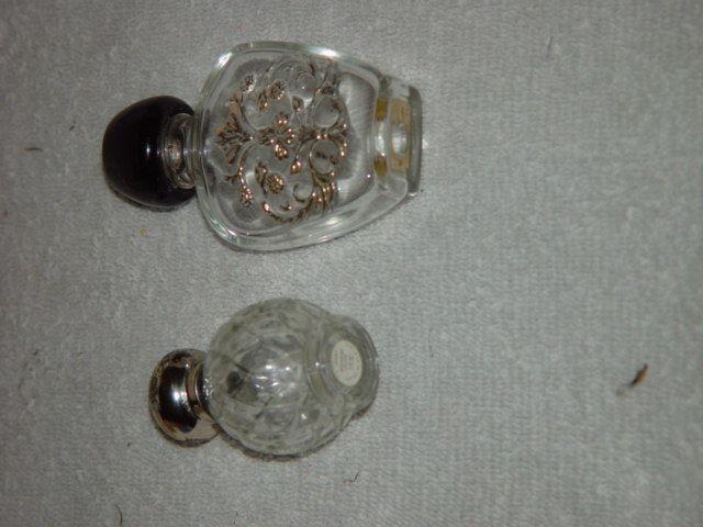 Avon Empty Perfume Bottles Set of 2