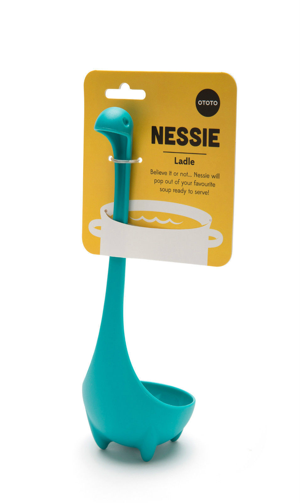 Kitchen gifts home funky ladle design nessie loch ness for Funky household gifts