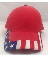 American Flag Hat, Trucker/Hat/Cap, Velcro Adjustable - $29.99