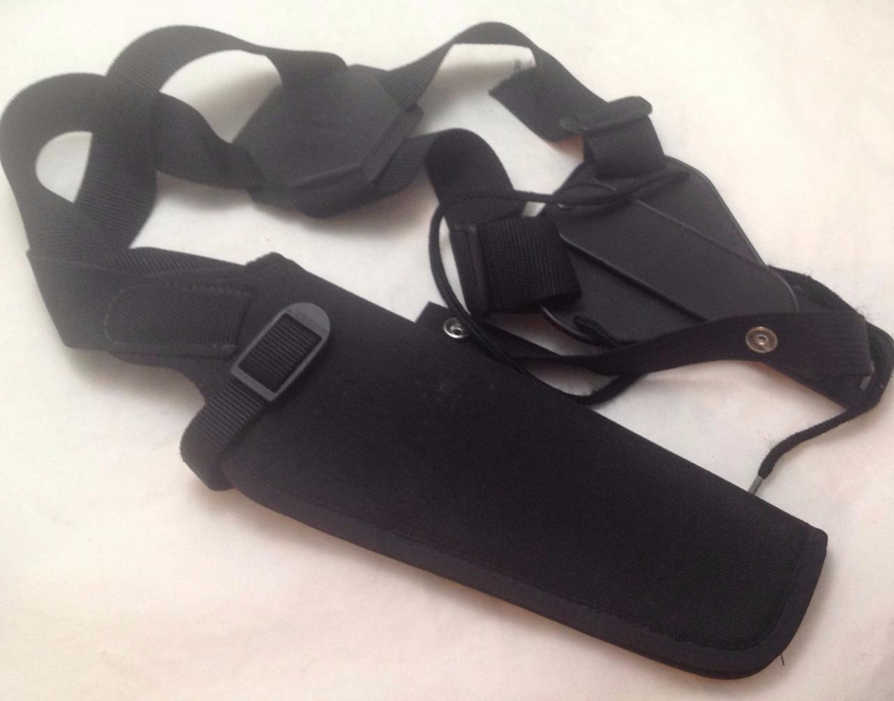 Uncle Mike's Black Sidekick Vertical Shoulder Holster Right Hand Size 3
