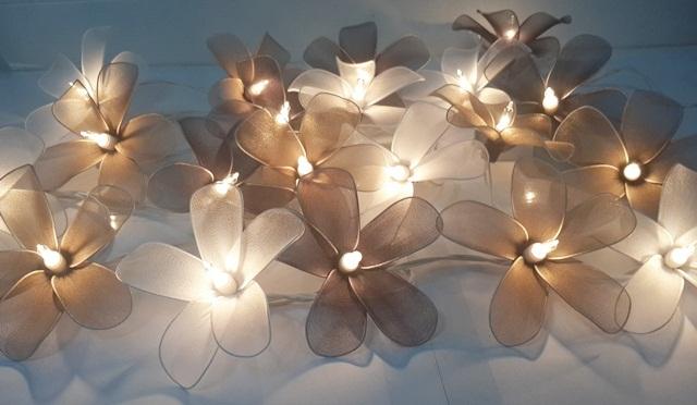string lights christmas classic tone frangpani 20 party patio fairy light decor