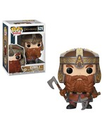 The Lord of the Rings Movies Gimli w/ Axes Vinyl POP! Figure Toy #629 FU... - $12.55