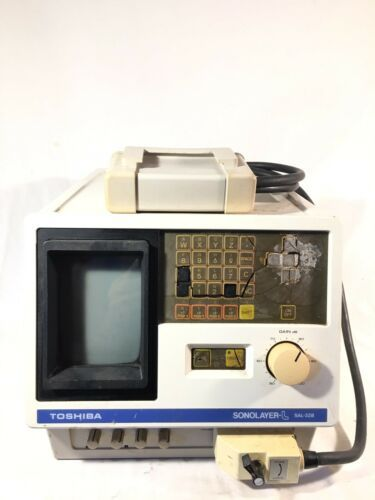 Toshiba Sonolayer-L Linear Electronic Scanning System, Model: SAL-32B