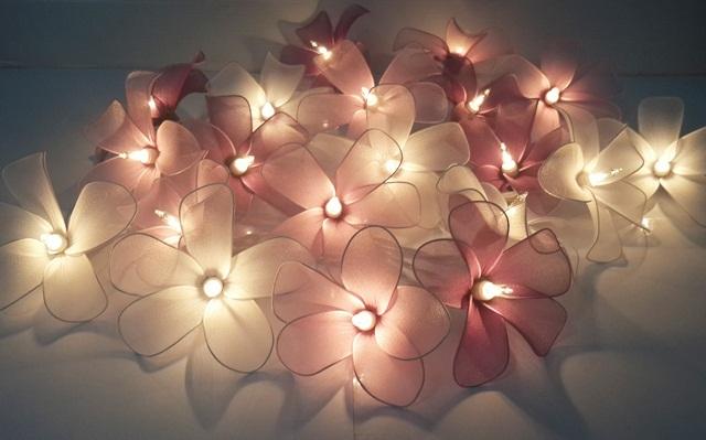 string lights christmas classic purple frangpani 20 party patio fairy decor room