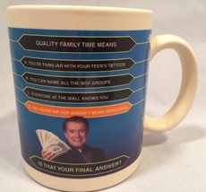 Coffee Mug Who Wants To Be A Millionaire Is Tha... - $14.80