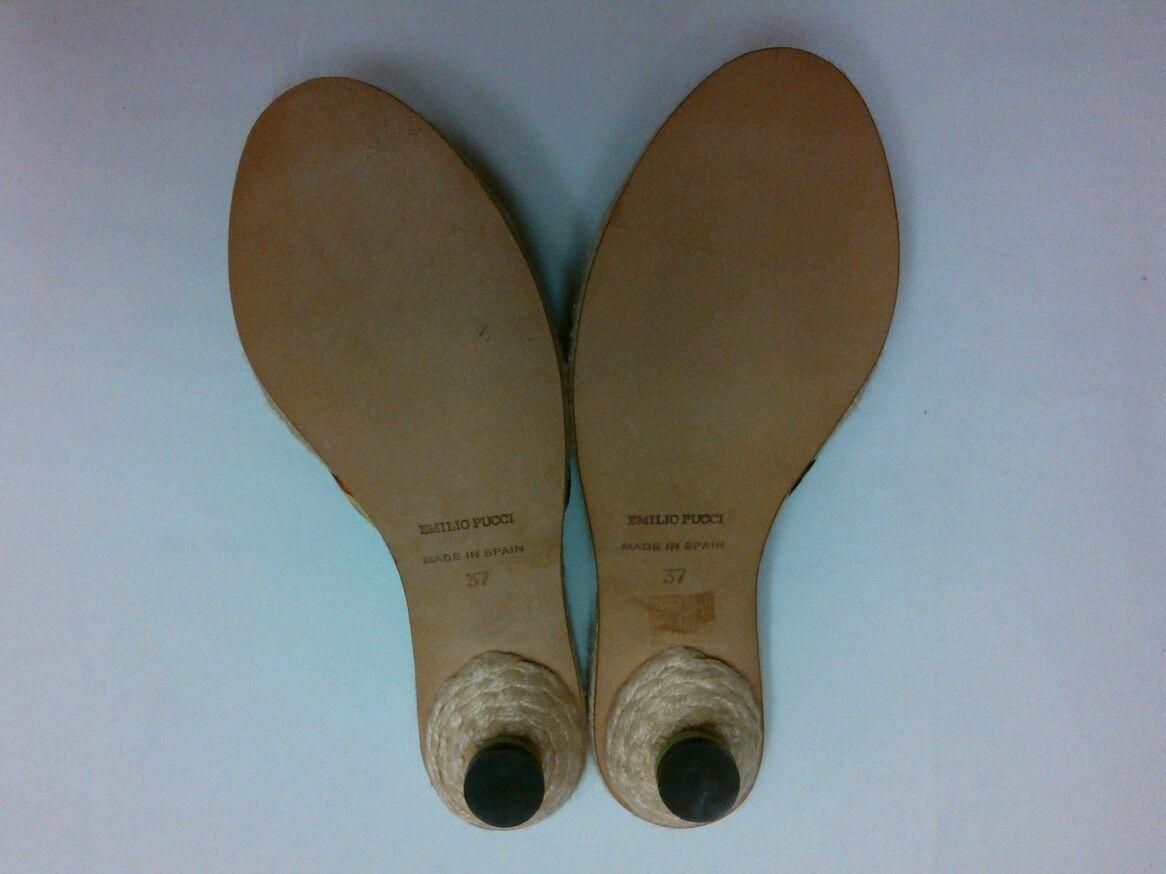 Emilio Pucci Firenze Size 37- (6 1/2 to 7 US)