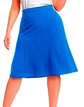 DBG Women's Slim Lady High Waisted A Line Skirt Small Royal Blue - $25.47