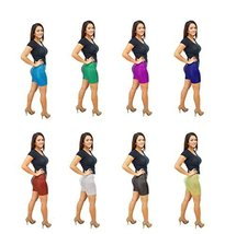 DBG Women's Mermaid Fish Scale Shorts (4XL, Blue) - $39.15