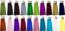 DBG Women's Women's Maxi High Waist Rayon Skirts (5XL, Brown) - $30.37