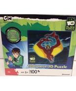 Alien Force Cartoon Network 3D Puzzle 100 Pieces NIB - $7.99