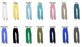 DBG Women's Women's Cotton Palazzo Wide Legged Pants (4XL, Pink) - $30.37