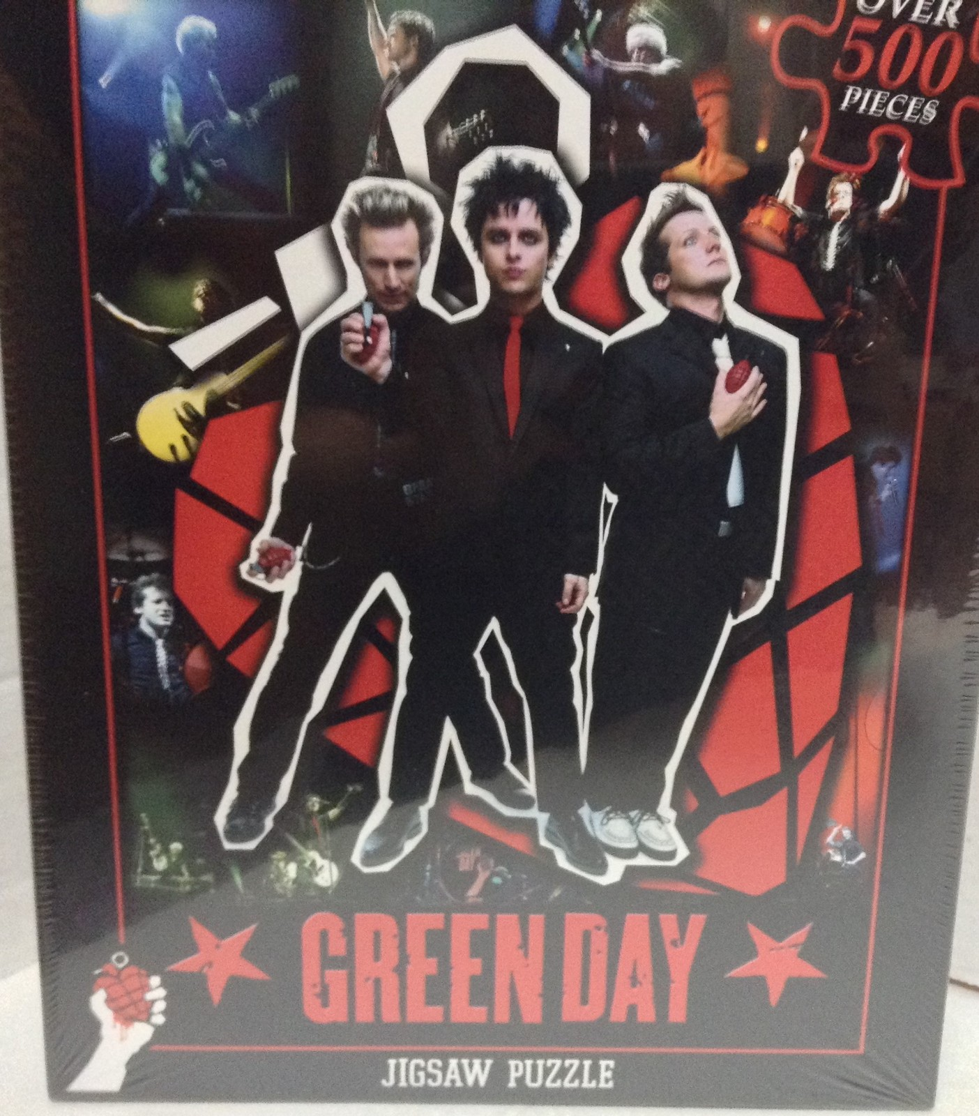 Green Day Puzzle Boulevard of Broken Dreams Rock Band NIB