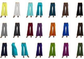 DBG Women's Women's Palazzo Wide Leg Rayon Pants (XS, Royal Blue) - $25.47