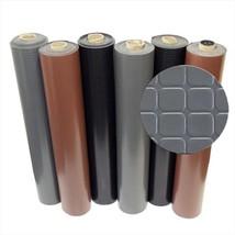 Rubber-Cal Block-Grip Rubber Flooring Rolls Brown, 108 x 48 x 0.08 in. - $81.70