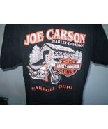 Harley-Davidson Black T-Shirt XL Carroll, Ohio - $20.00