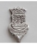Collector Souvenir Spoon Portugal Lisbon Lisboa Sailing Ship - $14.99