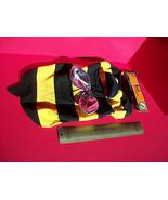 Pet Holiday Dog Clothes Large Bumble Bee Halloween Costume Set Hat Anima... - $8.54