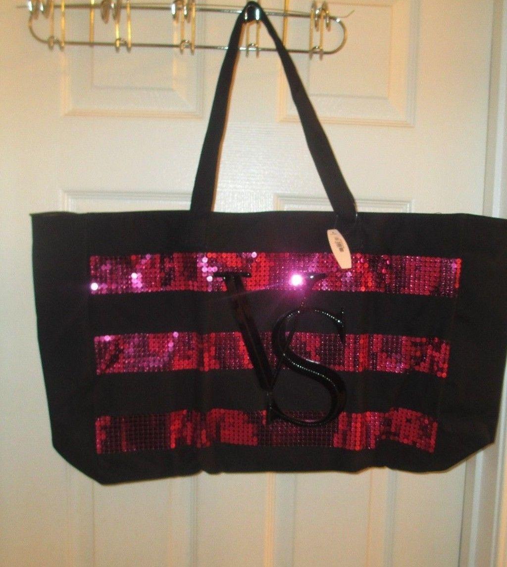 cf9fb5b8dc Victoria Secret~Limited Edition Bling Black Friday 2014 Tote Handbag ~NWT -  $33.60