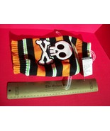 SimplyDog Pet Clothes Small Halloween Holiday Dog Striped Skull Sweater ... - $7.59