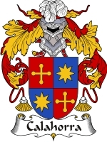 Primary image for Calahorra Family Crest / Coat of Arms JPG or PDF Image Download