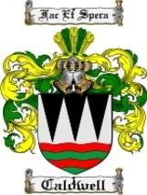Caldwell Family Crest / Coat of Arms JPG or PDF Image Download - $6.99