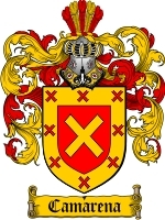 Primary image for Camarena Family Crest / Coat of Arms JPG or PDF Image Download