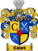 Primary image for Canard Family Crest / Coat of Arms JPG or PDF Image Download