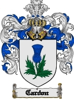 Primary image for Cardon Family Crest / Coat of Arms JPG or PDF Image Download