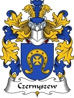 Primary image for Czernyszew Family Crest / Coat of Arms JPG or PDF Image Download