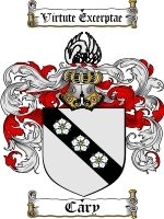 Primary image for Carey Family Crest / Coat of Arms JPG or PDF Image Download