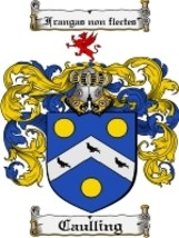 Caulling Family Crest / Coat of Arms JPG or PDF Image Download - $6.99