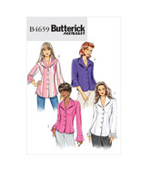 Butterick 4659 Fast & Easy Misses'/Misses' Petite Shirts Size 14  - $2.00