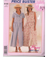 1996~ McCall's Price Buster Easy Stitch 'n Save Ladies Dress P275 Size 6-12 - $5.50