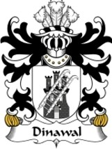 Dinawal Family Crest / Coat of Arms JPG or PDF Image Download - $6.99