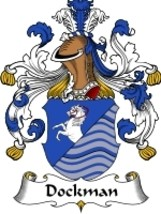 Dockman Family Crest / Coat of Arms JPG or PDF Image Download - $6.99