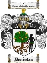 Donnelan Family Crest / Coat of Arms JPG or PDF Image Download - $6.99