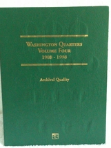 Washington Quarter Complete Set - 1988 to 1998 + Proofs - $79.95