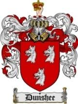 Dunshee Family Crest / Coat of Arms JPG or PDF Image Download - $6.99