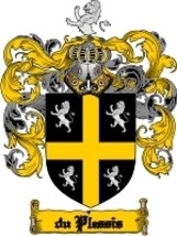 Duplessis Family Crest / Coat of Arms JPG or PDF Image Download - $6.99