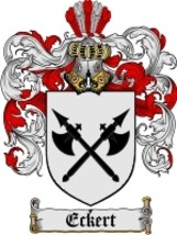 Eckert Family Crest / Coat of Arms JPG or PDF Image Download - $6.99