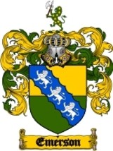 Emerson Family Crest / Coat of Arms JPG or PDF Image Download - $6.99