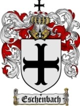 Eschenbach Family Crest / Coat of Arms JPG or PDF Image Download - $6.99