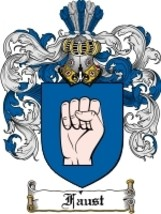 Faust Family Crest / Coat of Arms JPG or PDF Image Download - $6.99