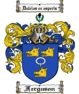 Ferguson Family Crest / Coat of Arms JPG or PDF... - $6.99
