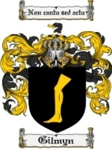 Gilmyn Family Crest / Coat of Arms JPG or PDF Image Download - $6.99