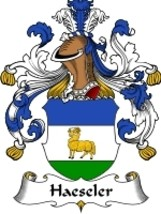 Haeseler Family Crest / Coat of Arms JPG or PDF Image Download - $6.99