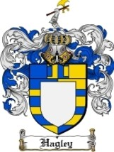 Hagley Family Crest / Coat of Arms JPG or PDF Image Download - $6.99