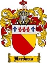 Hardman Family Crest / Coat of Arms JPG or PDF Image Download - $6.99