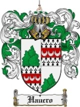 Haucro Family Crest / Coat of Arms JPG or PDF Image Download - $6.99