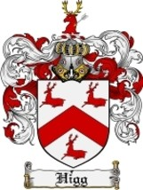 Higg Family Crest / Coat of Arms JPG or PDF Image Download - $6.99